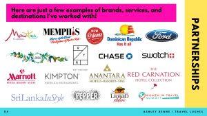 Travel Lushes Blog Media Kit Page 2