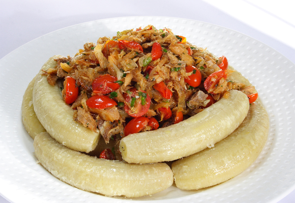 Green Figs and Saltfish