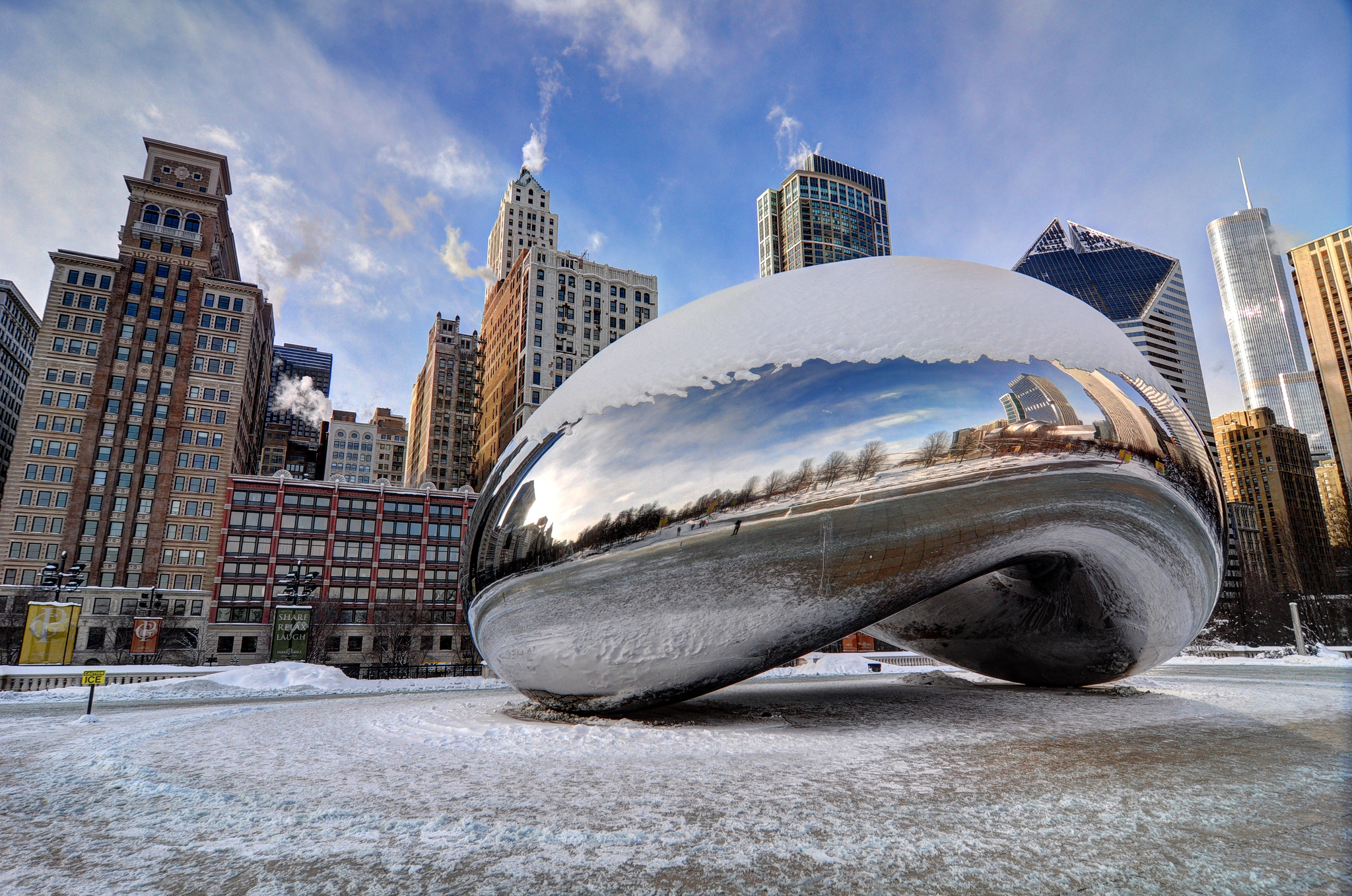 The Cloud Gate aka The Chicago Bean