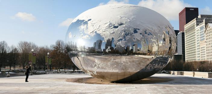 The Cloud Gate aka The Chicago Bean