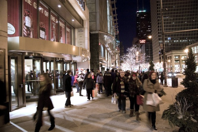 Magnificent Mile shopping