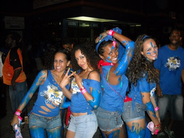 St. Lucia Carnival festivities