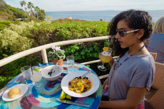 Lunch at Geoffrey's Malibu