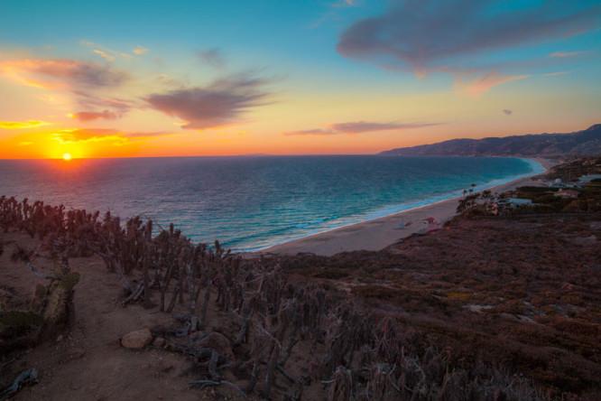Point Dume sunset
