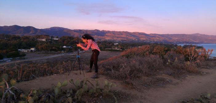 I enjoyed capturing the scenery during sunset.
