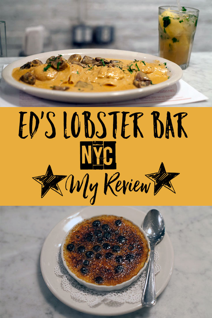 Restaurant Review: Ed's Lobster Bar in SoHo, NYC