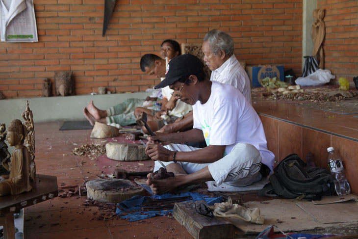 Artisans in Ubud, Bali