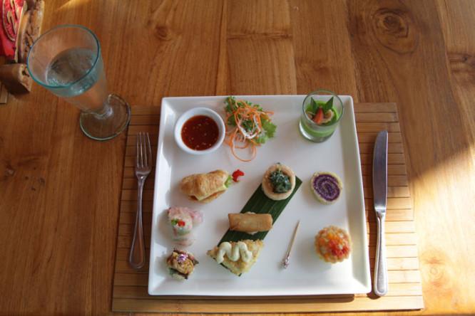 Royal Pita Maja food in Bali