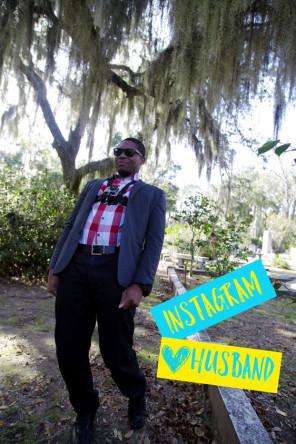 Karl with GoPro in Savannah
