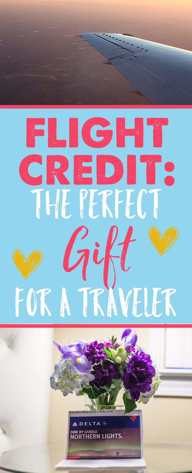 c9bdd83411077e Flight credit is the perfect gift for a travel addict! Come up with a  destination