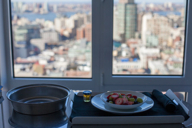 Nomo Soho: Breakfast with a view
