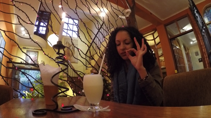Pisco Sour at Kusikuy Restauraunte (from Peru Travel Guide Part 3: Cusco City)