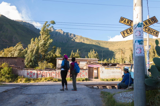 Hike from Salineras in the Sacred Valley in Peru