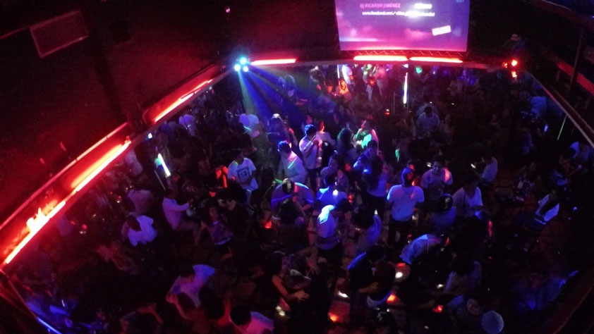 Nightclub in Lima, Peru