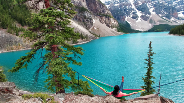 Top 15 Banff Attractions: #11. Bring a hammock to Lake Moraine