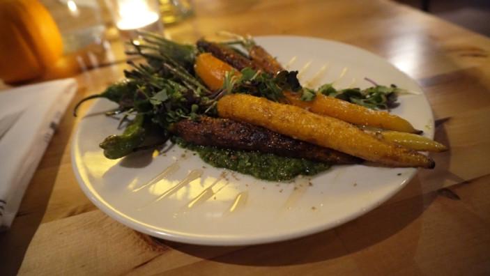 Cantina 229 carrot dish