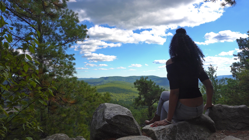 Monument Mountain in the Berkshires: Devil's Pulpit