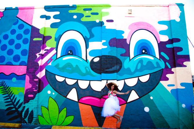 St Pete street art | Shop the Look on my blog