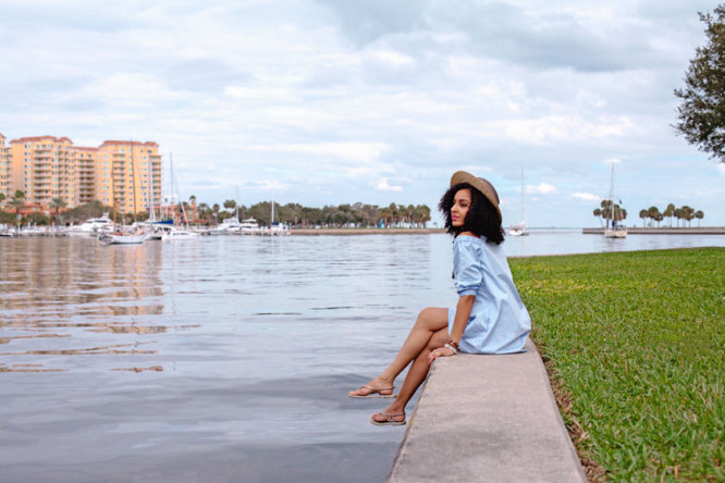 Downtown St Pete Pier | Shop the Look on my blog
