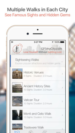 GPSmyCity: GPS-guided travel guides