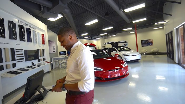 Tesla Model S Test Trive