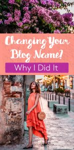 Why I Changed My Blog Name