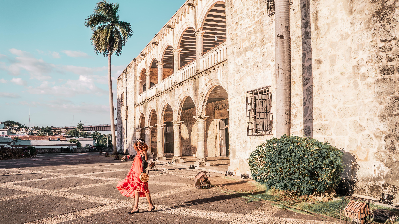 Ashley Renne in Santo Domingo - Zona Colonial
