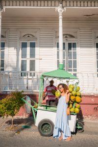 Vegan food, Boca Marina, Dominican Republic