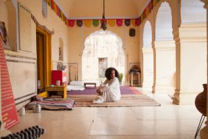 Ashley Renne in Jaipur, India