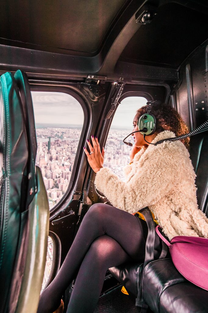 New York City helicopter ride