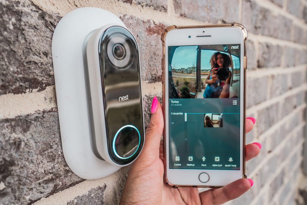 Getting Started with Smart Home Tech: Nest Home Security System - Nest Hello Video Doorbell