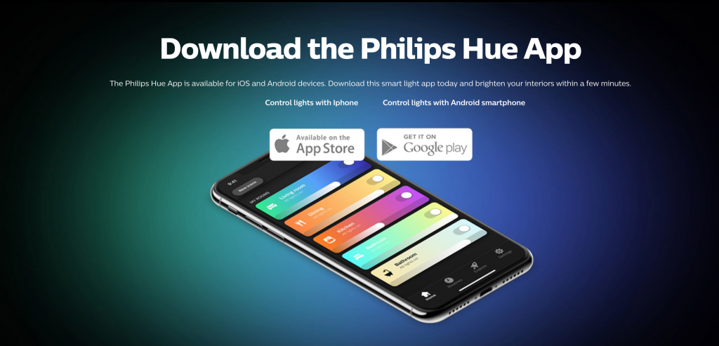 Smart Home Philips Hue Lighting