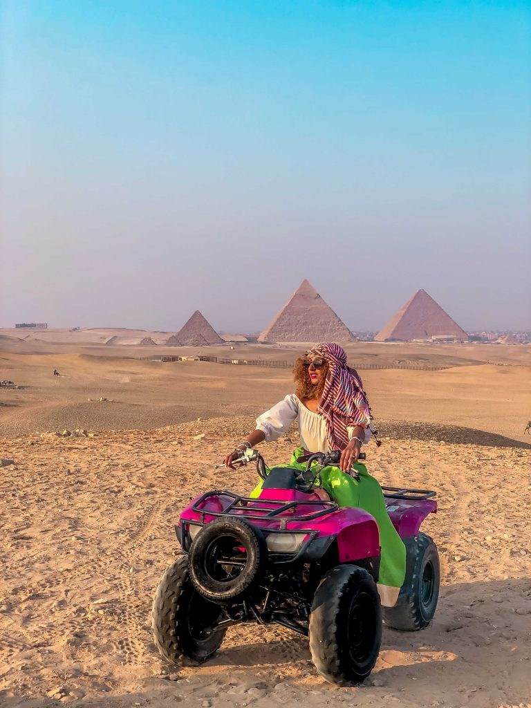 Quad Biking (ATV) - Alternative to Riding Camels