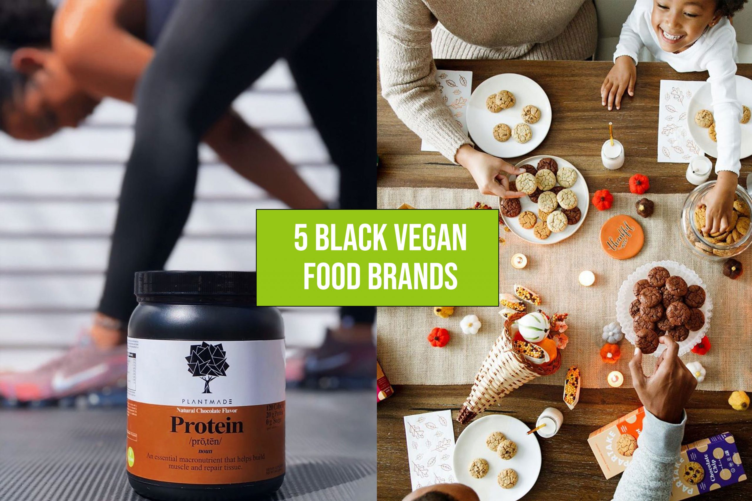 5 Black Vegan Food Brands