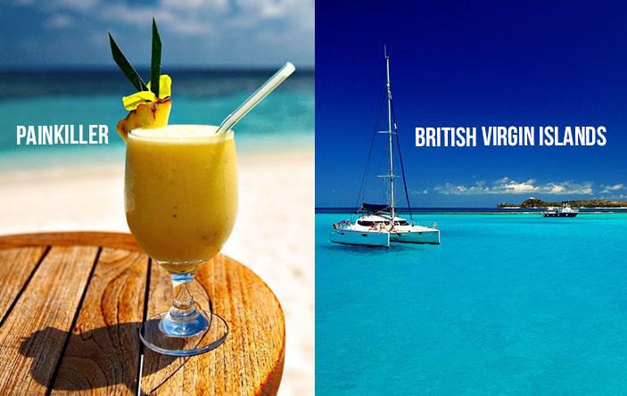 Vegan Cocktail Recipe: British Virgin Islands Painkiller
