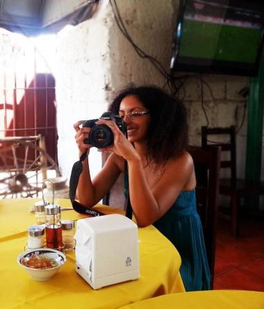 Filming in Nicaragua