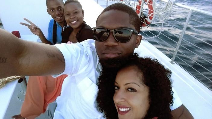 Virgin Islands: Karl, Jenny, Charles, and me