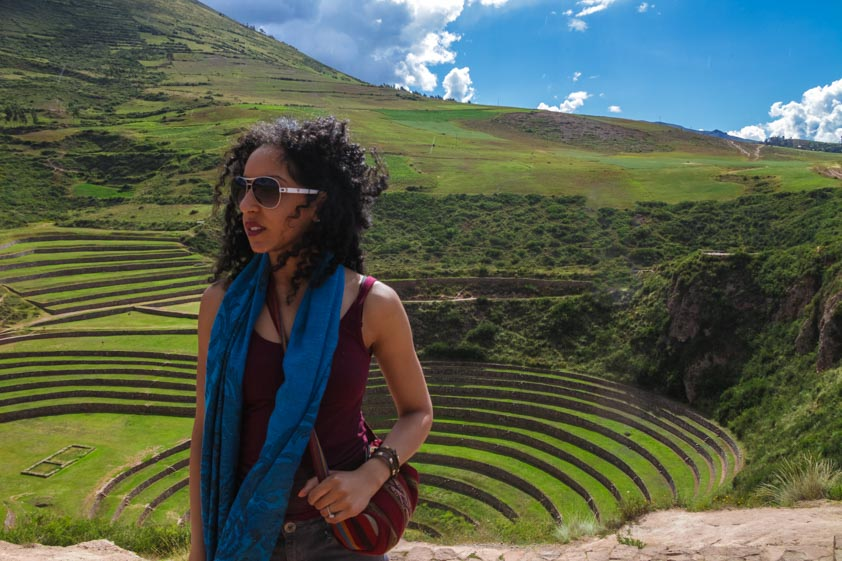 Moray in the Sacred Valley of Peru