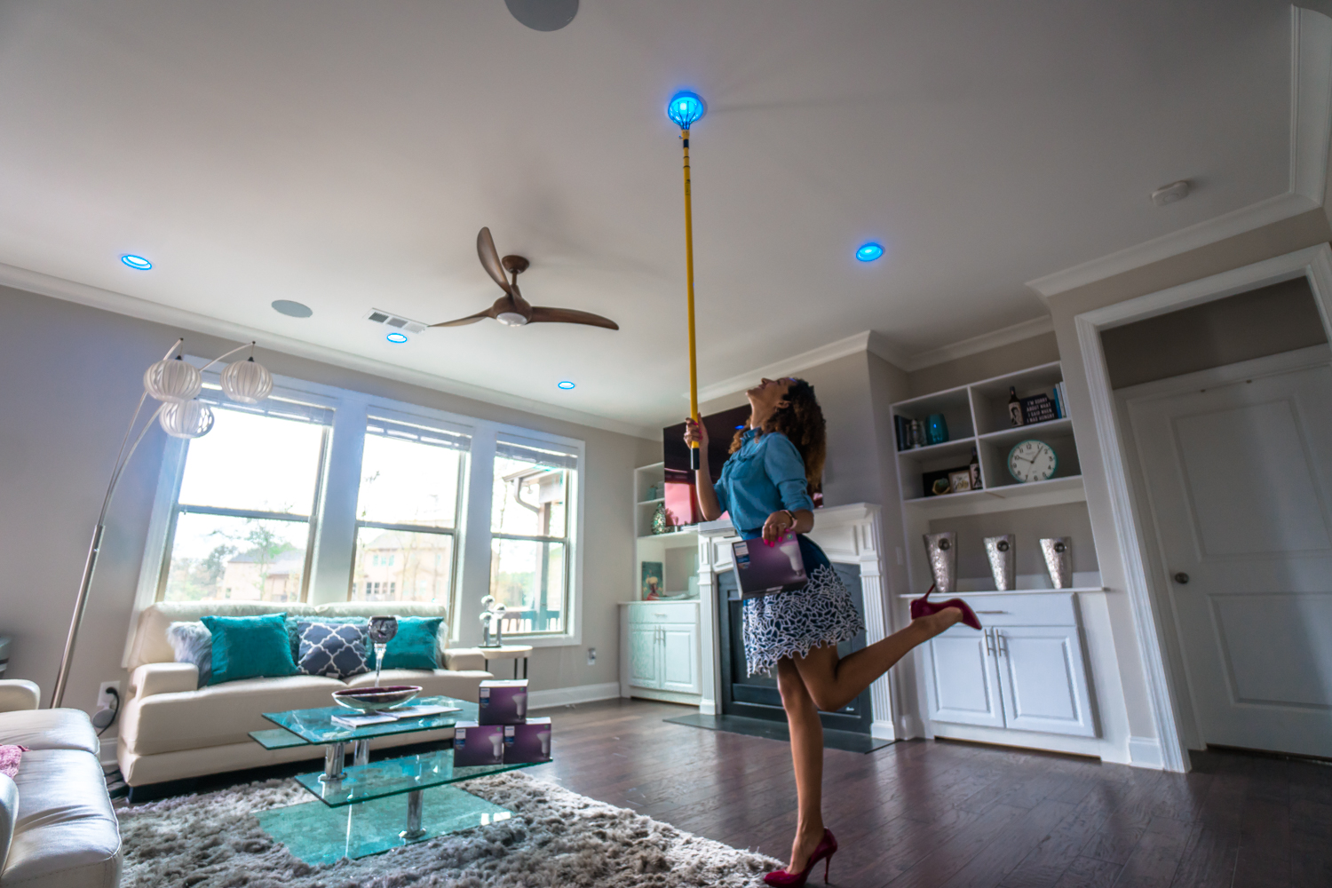 Smart Home: How I Colorfully Transform Rooms with Philips Hue Lights